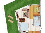 Duplex en venta, 190 m2, 4 dormitorios, 2 ba&ntilde;os en Pilagos